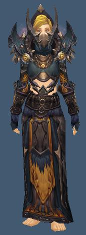 Priest Tier 9 Horde – Zabra's Regalia & Raiment   WOW Transmogrify